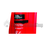 Co2 Securing Strap For Two-Part Fire Extinguisher Stands