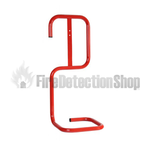 Single Red Tubular Fire Extinguisher Stand