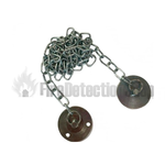 Door Holder Keeper plate with 1M Chain