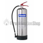 Commander DP EX9SS 9Kg ABC Powder Stainless Steel Fire Extinguisher