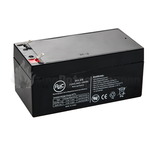 FireSmart 3.4Ah 12vdc Sealed Lead Acid Battery