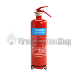 FireSmart 2Kg ABC Dry Powder Fire Extinguisher