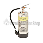 FireSmart 9Ltr Stainless Steel AFFF Foam Fire Extinguisher
