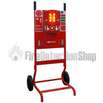 Howler FirePost Mobile Fire Point Complete With Signage, 2 x J Brackets & Site Alert Alarm