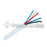 100m 6 Core White Intruder Alarm Cable