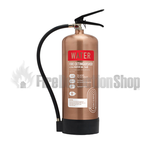 Contempo Brushed Antique Copper 6Ltr Water Fire Extinguisher