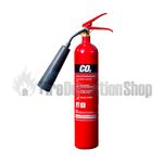 Commander Edge CO2E 2Kg Co2 Steel Fire Extinguisher