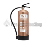 Contempo Brushed Antique Copper 6Ltr AFFF Foam Fire Extinguisher