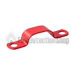 FireSmart 7mm Red Saddle Clip - Pack 100