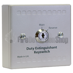Kentec K13480M9 Sigma XT Main/Reserve Duty Extinguishant Keyswitch Unit