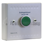 Kentec K91000M10 Sigma Si Extinguishant Hold Off Unit (Green Button)