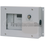 Kentec W911100W8 Sigma Si Weatherproof Extinghuishant Status Unit: 6 Lamp with Mode Select & Manual Release
