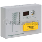 Kentec K911110M8 Sigma Si Extinghuishant Status Unit: 6 Lamp with Mode Select & Manual Release