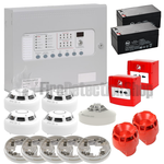 Kentec 2 Zone Fire Alarm Conventional Kit - Hochiki