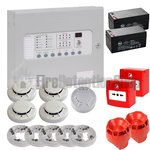 Kentec 4 Zone Fire Alarm Conventional Kit - FireSmart