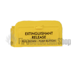 Kentec M530UK Sigma XT Replacement Yellow Pull Flap (English)
