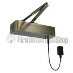Responder 24 Electromagnetic Fire Door Closer - Antique Brass