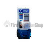 Jonesco Blue Mobile Display Point With Lid & Toggle