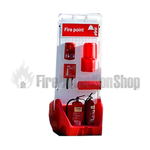 Jonesco Red Mobile Display Point With Lid