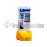 Jonesco Yellow Mobile Display Point With Lid & Toggle