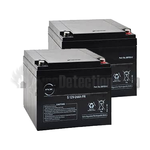 FireSmart 24Ah Trade Battery Twin Pack