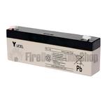 Yucel 12v 2.1Ah Sealed Lead Acid Battery