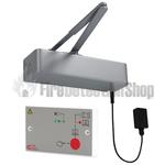 Responder 24 Electromagnetic Fire Door Closer - Silver w/ C-Tec BF375PE PSU