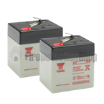 Yuasa (NP1-6) 6v 1Ah Sealed Lead Acid Batteries (Pack of 2)