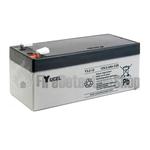 Yucel 12v 3.2Ah Sealed Lead Acid Battery