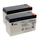Yucel 12v 7.0Ah Battery Twin Pack