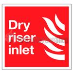 Dry Riser Inlet Sign