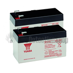Yuasa (NP1.2-12) 12v 1.2Ah Sealed Lead Acid Batteries (Pack of 2)