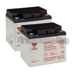 Yuasa (NP38-12) 12v 38Ah Sealed Lead Acid Batteries (Pack of 2)