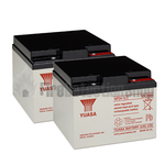 Yuasa (NP24-12) 12v 24Ah Sealed Lead Acid Batteries (Pack of 2)