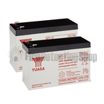 Yuasa (NP7-12) 12v 7Ah Sealed Lead Acid Batteries (Pack of 2)