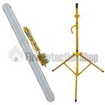 110V Waterproof Emergency LED Tripod Mounting Fitting 1520mm w/ Tripod Base