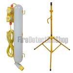 110V Waterproof Emergency LED Tripod Mounting Fitting 620mm w/ Tripod Base