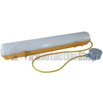 110V Waterproof LED Non-Corrosive Fitting with Flex and Junction Box 635mm SNCFP220C