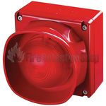 Apollo 55000-298APO XP95 Addressable Multi-Tone IP66 Open-Area Sounder Beacon (Red)