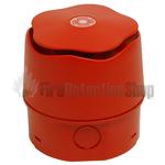 Banshee 903CHA6AO Excel Capsule Horn Sounder w/ Deep Base - Red