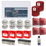 8 Zone Contractor Fire Alarm Kit w/ Voice Evacuation