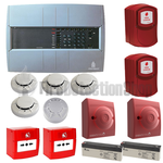 FireSmart 4 Zone Fire Alarm Conventional Kit w/ Voice Evacuation