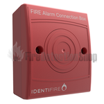 Identifire 10-2410RSX-S System Connection Box, Surface Mount, Red