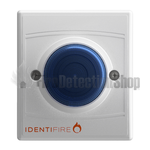 Identifire 10-1110WSB-S TriTone Sounder with VID - Blue Lens
