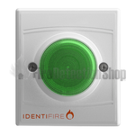 Identifire TriTone Sounder with VID - Green Lens