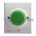 Identifire TriTone Sounder with VID - Green Lens