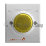 Identifire 10-1110WSA-S TriTone Sounder with VID - Amber Lens