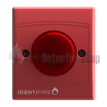 Identifire 10-1310RSR-S VID Beacon - Red Body & Lens