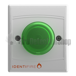 Identifire 10-1310WSG-S VID Beacon - Green Lens