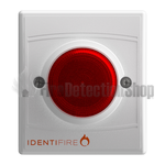 Identifire TriTone Sounder with VID - Red Lens